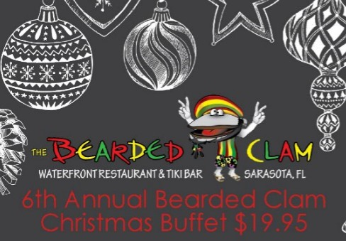 The Bearded Clam Restaurant In Sarasota Is Having A Huge Christmas Buffet