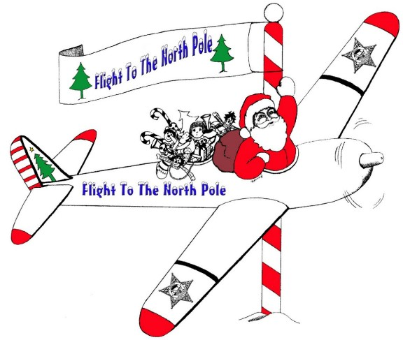 Flight To The North Pole