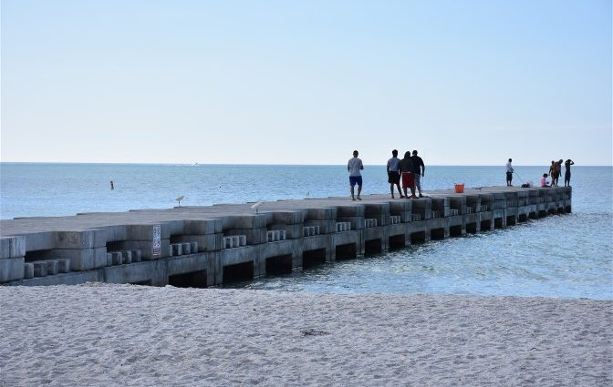 Great New Improvements Along Cortez Beach