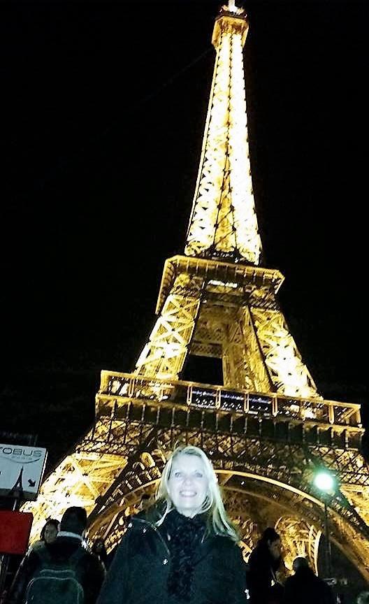 Lori Collins in Paris