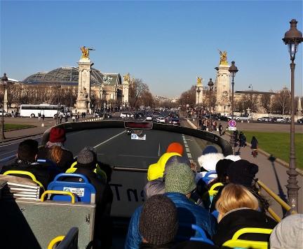 Double Decker Bus In Paris