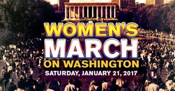 The Women's March on Washington 1/21/17