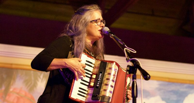 WSLR Throws pre-Mardi Gras party with Beth McKee and her Funky Time Band