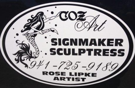 Rose Like, Coz Art- A Special Treasure In Cortez, Florida