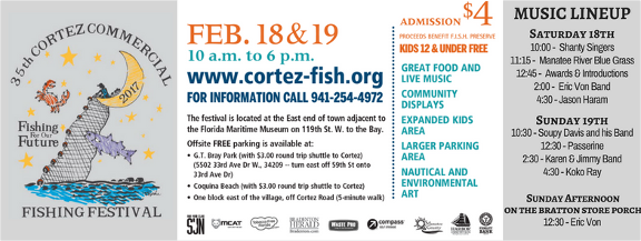 Cortez Commercial Fishing Festival- Fishing for the Future