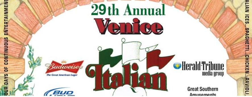 The 29th Annual Venice Italian Feast & Carnival