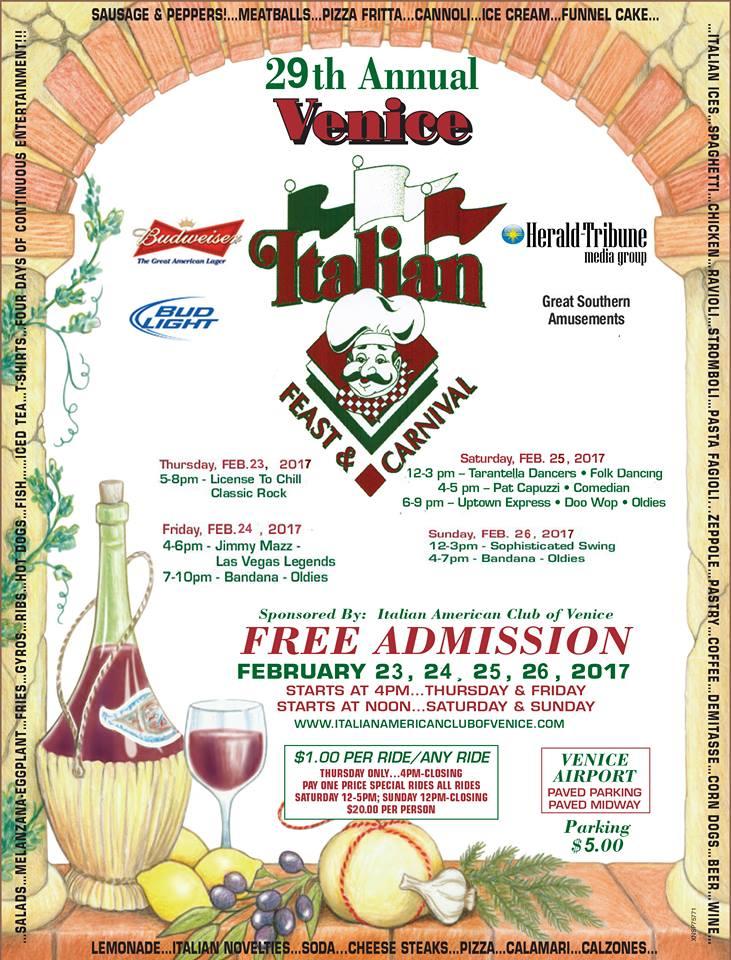 Italian Feast Venice, Florida