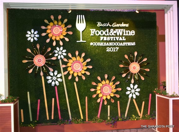 Busch Gardens Annual Food and Wine Festival- Awesome!