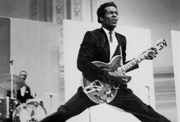 Chuck Berry Went 'Back To The Future'