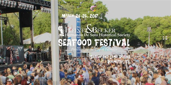 DeSoto Seafood Festival March 24-26 Featuring '38 Special'