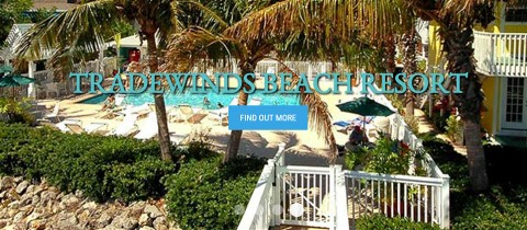 Beach Resort on Anna Maria Island Florida