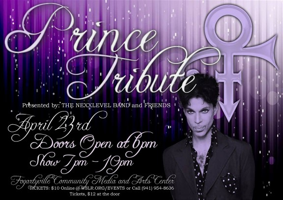 WSLR Hosts Prince Tribute with the NEXXLevel Band