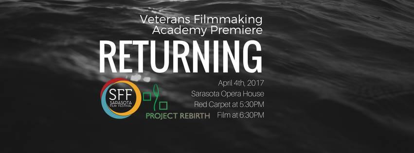 "Veterans Filmmaking Academy To Debut ""Returning"""