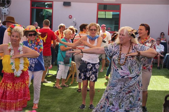 Attendees will be treated to live music, lite bites and beverages and hula dancing lessons.