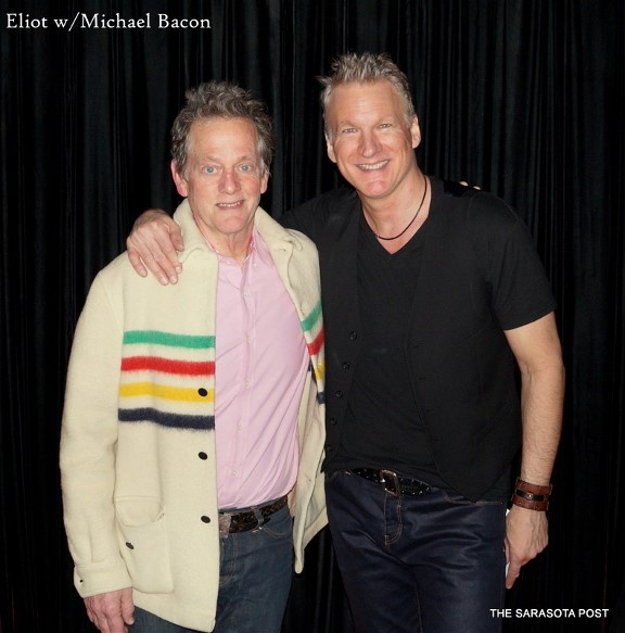 Eliot Lewis and Michael Bacon