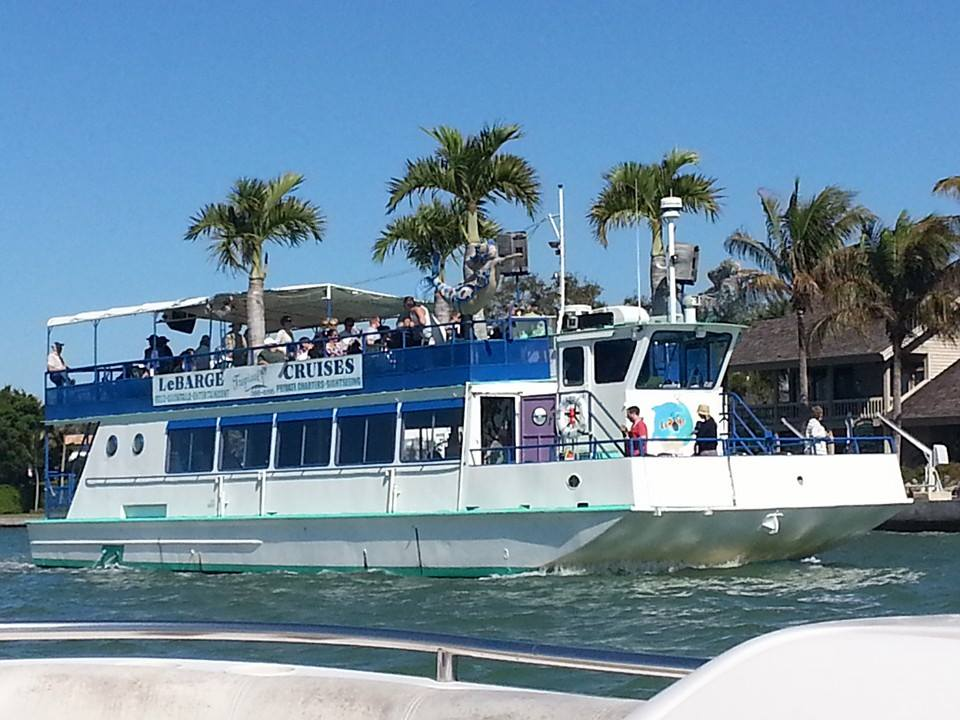With a full bar, nice menu, live entertainment and special events like a 4th of July fireworks cruise, LeBarge Tropical Cruises is the boat to be on this summer.