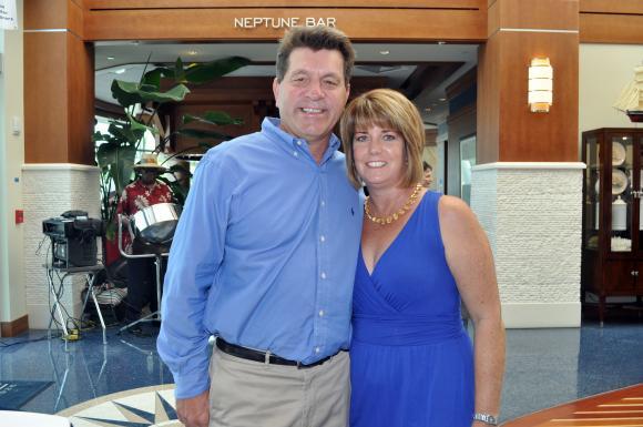 Bob Harrigan and his wife, Susan