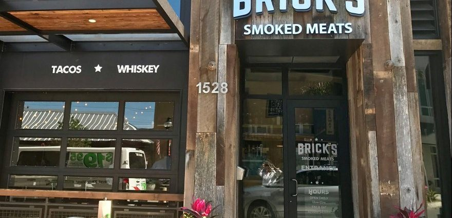 Brick's Smoked Meats In Sarasota- Casual Chic Texas BBQ