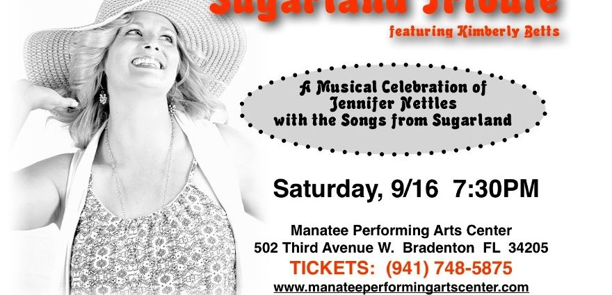 Kim Betts to Star at the Manatee Performing Arts Center