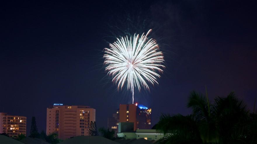 Fireworks in Florida