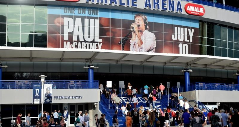 Rock Music Icon – Paul McCartney at Amalie Arena
