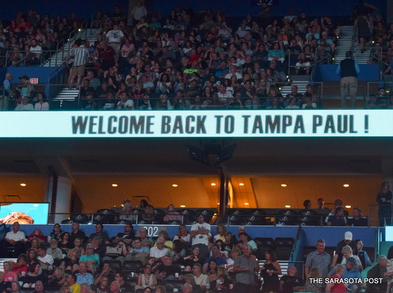Welcome Back to Tampa, Paul McCartney