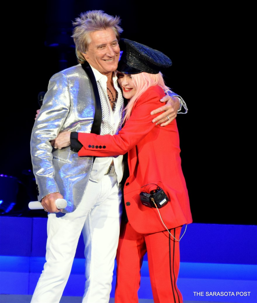 Rod Steward & Cyndi Lauper