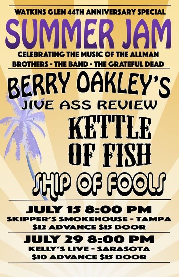 Berry Oakley, Ship of Fools, Kettle of Fish