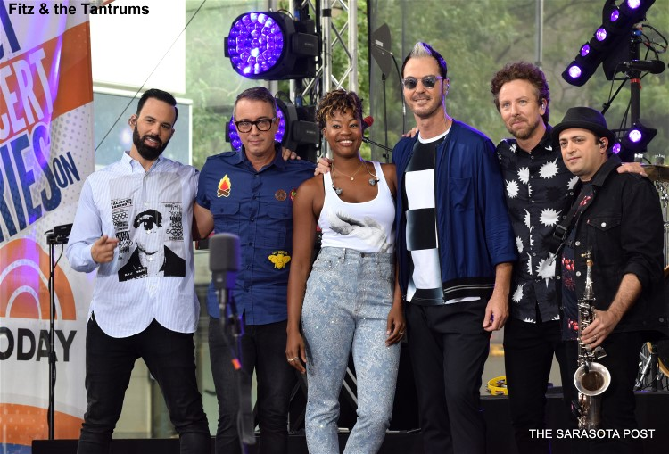 Fitz and the Tantrums on NBC Today Show