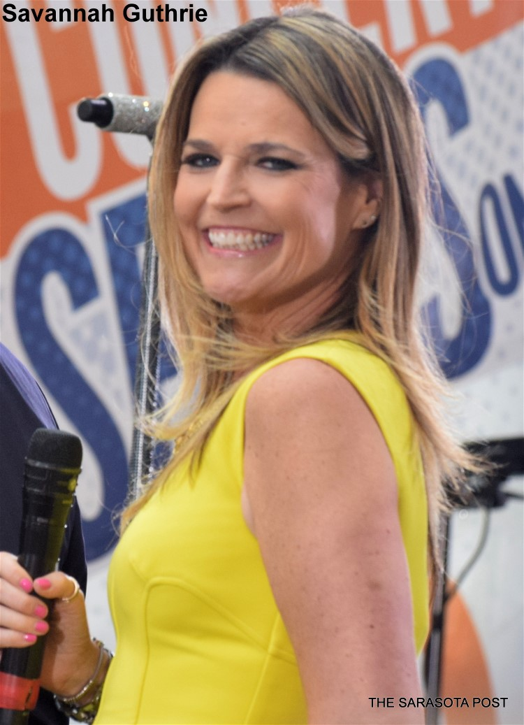 Savannah Guthrie of the Today Show