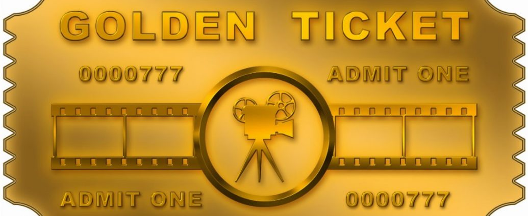 I Can't Believe I Got The Golden Ticket!