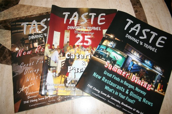 Neil Finelli, Publisher of Taste Dining & Travel Celebrates 25 Years