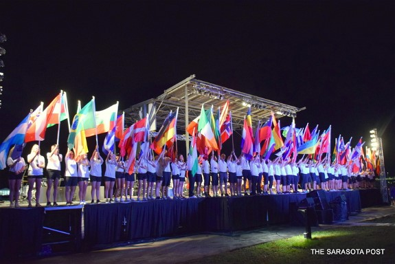 2017 World Rowing Championship's Opening Ceremony Takes the Gold