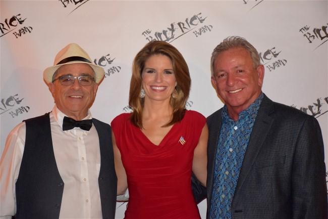 Hayley Wielgus, Sande Caplin and Billy Rice at Primo Ristorante