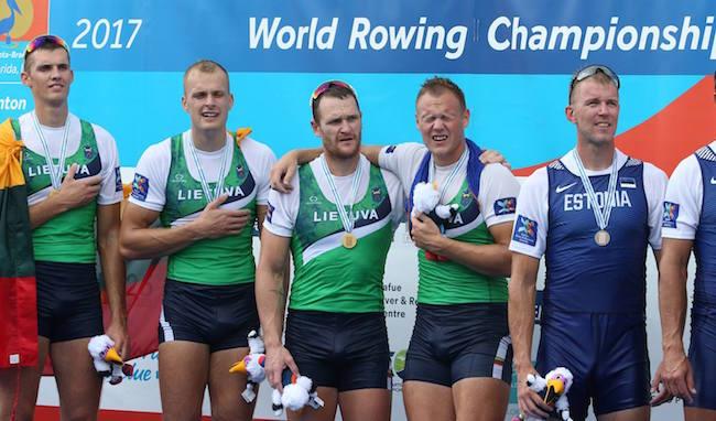 Lithuania's Men's Quadruple Scull Team
