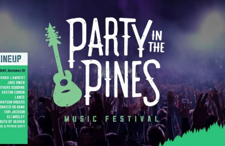 Huge Line-Up for 'Party in The Pines' includes the Billy Rice Band!