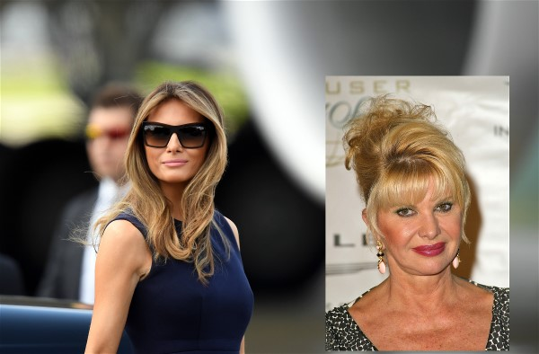 Need A Laugh? A Private Phone Conversation Between Ivana and Melania