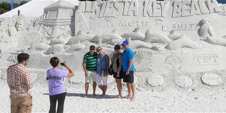 Siesta Key Crystal Classic International Sand Sculpting Festival- Don't Miss It!