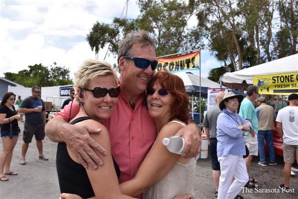 Katrina Cox, Bob Slicker, Laura Bell Adams