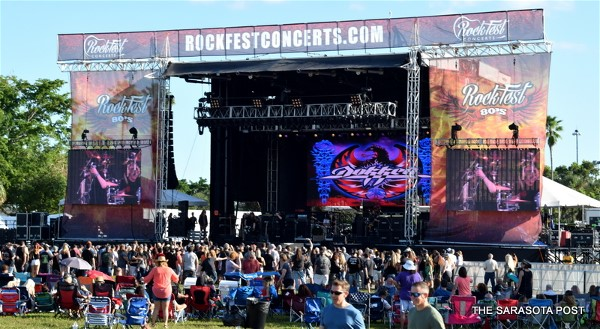 Rockfest 80's Festival at C.B. Smith Park in Pembroke Pines