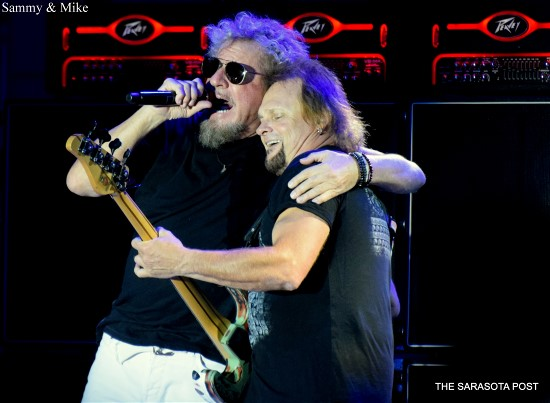 Sammy Hagar and the Circle at Clearwater's Coachman Park