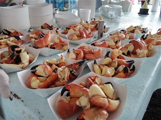 Stone Crab Season in Cortez