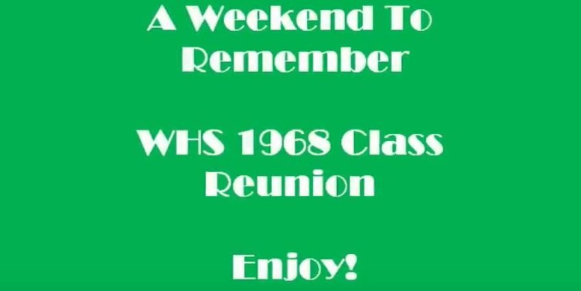 Westbury High School Class of 1968- Get Ready for some Laughs and Tears!