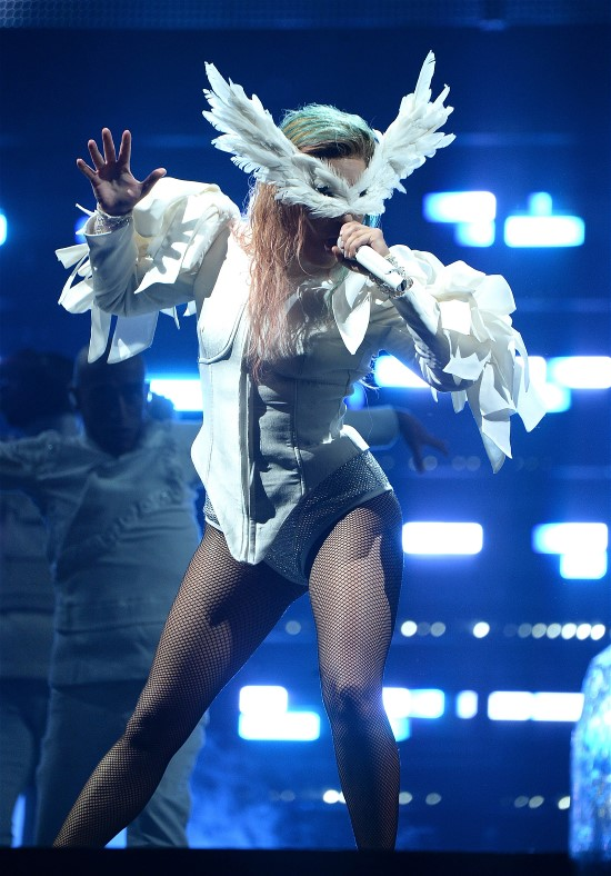 Lady Gaga photo by Kevin Mazur/Getty Images for Live Nation