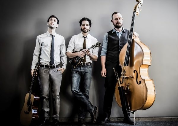 Canada's multiple award winning mando maestro Andrew Collins Trio makes Sarasota debut