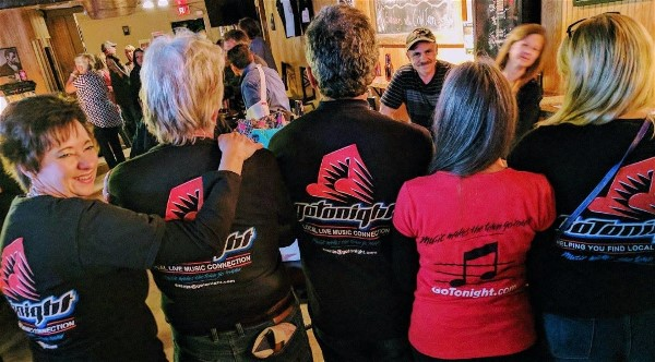 Go Tonight Needs Your Help! Support Live Music in our Area