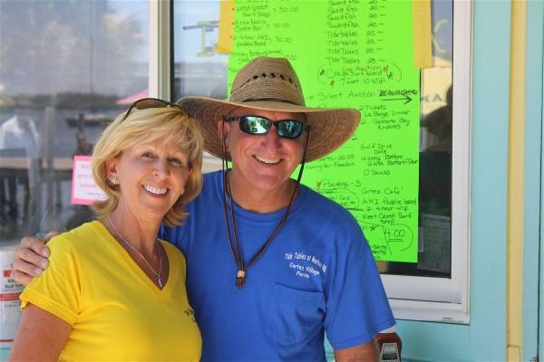 Bobby Woodson and Karen Bell