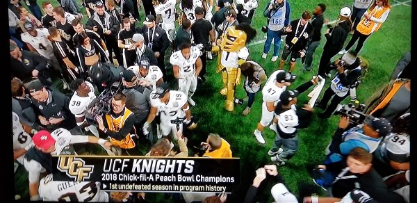 What a Peach! Congrats to the UCF Knights