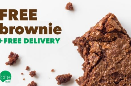 """Bite Squad to Give Away Free Brownies on """"Have a Brownie Day"""" + Free Delivery"""