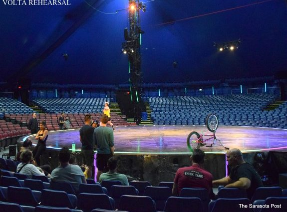 Cirque du Soleil Big Top Lands in Tampa with VOLTA!